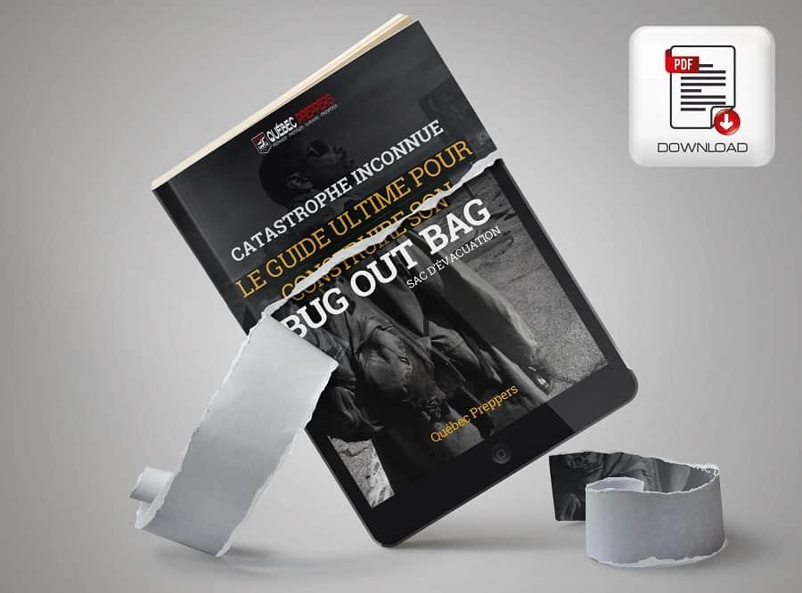 eBook - Le guide ultime pour créer son sac d'évacuation