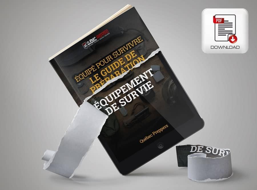 eBook - Guide de l'équipement de survie